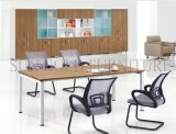 6 People (SZ-OT102)のためのHotsale Office Furniture Black Conference Table