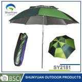 La fibre nervure le parapluie de pêche d'ouverture d'avant de parapluie de pêche (SY2181)