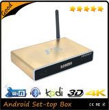 Montre complètement chargée de Kodi 16.2 de cadre de l'androïde 4.42 HDMI 4k TV de Quarte-Faisceau tout joueur de streaming media des émissions de télévision TV