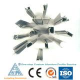 Perfil de aluminio para las puertas de aluminio y Windows