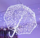 Het Licht van de Decoratie van het LEIDENE Lichte LEIDENE van Kerstmis Koord van de Slinger