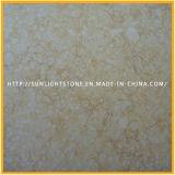 カウンタートップおよびタイルのためのエジプトの安い黄色く明るいベージュ大理石の平板