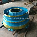 Peças elevadas do triturador da série do manganês para o triturador do cone