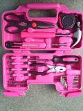 39PC Toolbox для девушок, набор инструментов для женщины, комплекта инструмента 39 PCS