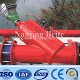 Filtro de agua manual de vivienda de la escobilla de la manija de los Ss 304