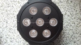 2016 mini7*10W RGBW 4 in 1 LED Mini Flat PAR