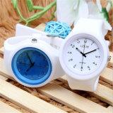 Venta caliente de diverso de los colores de la jalea del reloj de Ginebra de la manera Yxl-966 del reloj del cuarzo del silicón del deporte de Relojes de la muchacha reloj ocasional de las mujeres
