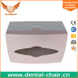 Caixa bonita da cor dental da cor-de-rosa da caixa do tecido das peças sobresselentes da unidade