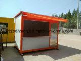 Comercial 거리 편리한 이동할 수 있는 Prefabricated 또는 조립식 다방 또는 바