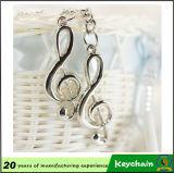 Nota promozionale Keyholder di musica degli strumenti musicali dell'elemento