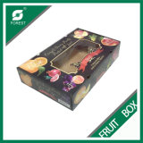 PVC Window를 가진 주문품 Paper Fruit Box
