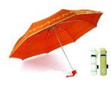 Parapluie en aluminium protégeant du vent de fois de l'impression 3 de papillon (YS-3FM21083944R)