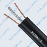 2core 18AWG Telephone Drop Wire