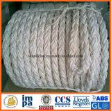 Corde tressée en nylon de polyamide double pour la vente en gros