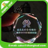 LED軽い流行の多彩な水晶Keychain (SLF-OK001)