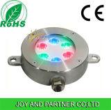 18W RGB LED 수중 수영풀 빛 (JP94264)