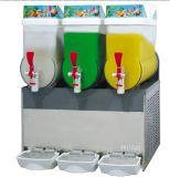 Solo-Tres fabricante del perrito del aguanieve de la máquina de Meiting de la nieve del jugo del coctel del tazón de fuente
