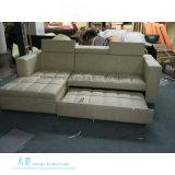 Base di sofà moderna di funzione del cuoio di stile per il salone (HW-6919S)