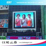 Самый лучший экран дисплея обслуживания СИД фронта рекламы качества P6mm SMD2727 напольный