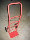 Einfache bewegliche Garten-Handlaufkatze mit zwei festen Rädern