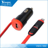 USB Car Battery Charger мобильного телефона Veaqee Wholesale с Cable
