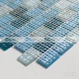 20X30mmの地下鉄パターン青く熱い溶解のガラスモザイク・タイル(BGZ012)