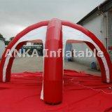 Preço barato da barraca inflável vermelha da aranha das vendas de anúncio