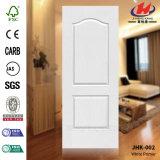 Piel blanca interior moldeada HDF/MDF laminada de la puerta