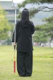 De hoogwaardige lang-Sleeved Kleding van het Linnen van de Vrouwen van de Chi van Wudang Tai van Prestaties Dikke