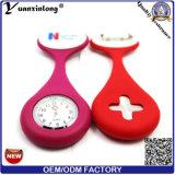Yxl-951 간호원 Fob 회중 시계 형식 소녀 소년 여자 남자 저항 간호원 Fob 시계 브로치 Pin 실리콘 덮개를 위한 의학 간호원 시계