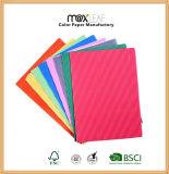 A4 - 210GSM escogen la tarjeta grabada color de la cubierta del atascamiento de libro de papel