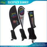 Teardrop рекламируя флаг Backpack знамени гуляя (M-NF04F06094)