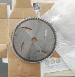 A circular viu a lâmina para a madeira ou o metal ou o alumínio