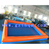 두 배 Layer Inflatable Pool 또는 Children의 Bunker Inflatable Pool
