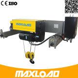 Double élévateur électrique de câble métallique de poutre de 8 tonnes (MLER08-06D)