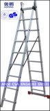 Telescopische Ladder van het Aluminium van de Uitbreiding van de Kruk van de Stap van het Huishouden van het staal de Uiteindelijke (ap-209C)