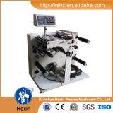 Talhadeira da etiqueta de código de barras e máquina de Rewinder Hx-320fq (vertical)