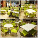Mobília de superfície contínua moderna do restaurante do fast food da tabela de jantar
