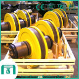 La rotella d'acciaio fucinata ostruisce la rotella ad alta resistenza Blokcs della gru