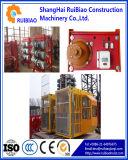 Double Cage (SC200/200)를 가진 주파수 Conversion Construction Hoist