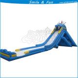 De opblaasbare Schuif van het Water voor de Spelen van het Park van het Water
