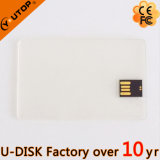 Vara transparente do USB do cartão de crédito do logotipo feito sob encomenda (YT-3101-02L)