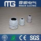 Mg M der Seiten-Ral7001 wasserdichte Nylonkabelmuffen PA-66 mit Gummidichtung und Mutter