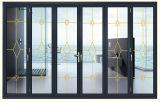Het matte Grijze Aluminium die van de Kleur Deur voor Balkon vouwen