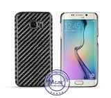 Alta de lujo caja de la fibra de carbono de teléfono real del 100% para Samsung Galaxy S7