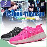 11可変性カラーと軽いLEDの靴を満たすUSB
