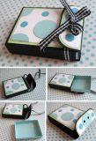 贅沢なハンドメイドのカスタムロゴによって印刷されるペーパー宝石類のギフト用の箱、リングボックス、ネックレスボックス