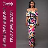 Madame sexy Printed Maxi Dress (L51309)