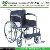 Estándar Economía no válida plegable de acero Sillas de ruedas manuales
