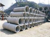 Tubo concreto que hace la máquina para la producción del tubo de desagüe
